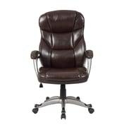 Belleze Deluxe High-Back Executive Chair; Mocha