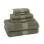 American Dawn Inc. Home Luxe 6 Piece Towel Set; Fern