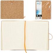 Merangue – Cahier en liège à fermeture élastique, 8,5 po x 10,5 po