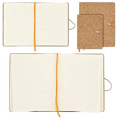 Merangue – Ensemble de cahiers en liège à fermeture élastique, 6 x 8 po et 8,5 x 10,5 po, paq./2
