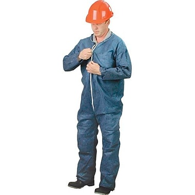 Lakeland Polypropylene Coverall, Med w/Collar, 25/Pack (C2412MDN40)