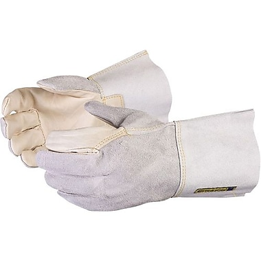 Superior Glove, Works Ltd. Endura Cowgrain Gloves, Split-Leather, Med 12 Pairs/Pack (375CSI-M #014318)
