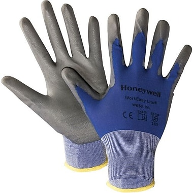 North by Honeywell - Gants Workeasy enduits de poly, très grand, 24 paires/paquet (WE50-XL)