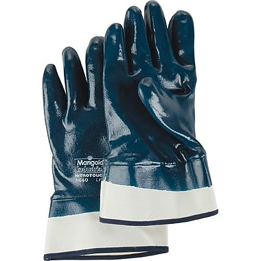 Ansell Gloves Fully Coated Nitrile Safetycuff, Size 8, 24 Pairs/Pack (114362)