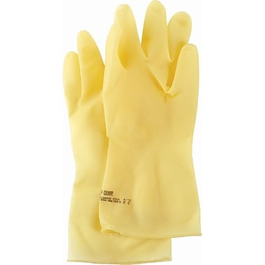 Marigold Industrial Glove, Featherweight Plus Unlined Latex, Medium 36 Pairs/Pack (113514)
