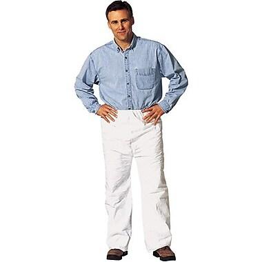 DuPont Personal Protection – Pantalons en Tyvek, taille élastique, coutures surjetées, 4TG, 25/paquet (TY350S-4XL)