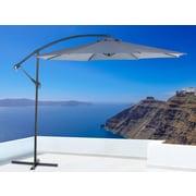 Ravenna Cantilever Patio Umbrella, Side Post Umbrella, Dark Grey (34452)