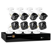 Defender® HD 1080p 16 Channel 2 TB Security DVR and 8 Bullet Cameras, with Mobile Viewing (HD2T16B8)