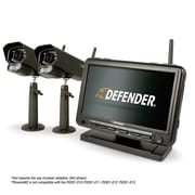 "Defender® PHOENIXM2 Digital Wireless 7"" Monitor DVR Security System with 2 Night Vision Cameras (PHOENIXM22C)"