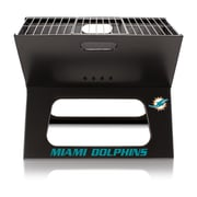 Picnic Time X-Grill Portable BBQ; Miami Dolphins