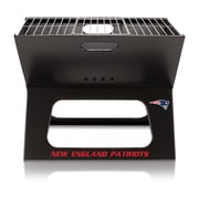 Picnic Time X-Grill Portable BBQ; New England Patriots