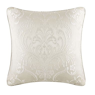 Five Queens Court Maureen Throw Pillow; Ivory