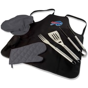 Picnic Time BBQ Apron Tote Pro; Buffalo Bills