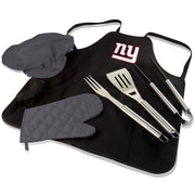 Picnic Time BBQ Apron Tote Pro; New York Giants