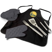 Picnic Time BBQ Apron Tote Pro; Golden State Warriors
