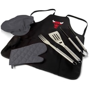 Picnic Time BBQ Apron Tote Pro; Chicago Bulls