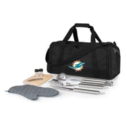Picnic Time BBQ Kit Cooler; Miami Dolphins