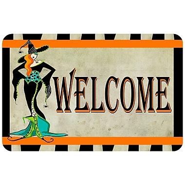 Bungalow Flooring Halloween Welcome Doormat