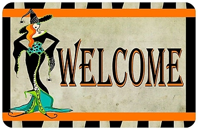 Bungalow Flooring Halloween Welcome Doormat
