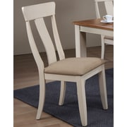 Iconic Furniture Side Chair (Set of 2); Biscotti