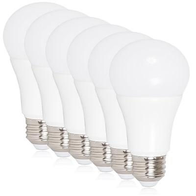 Maxxima 10 Watt Warm White A19 LED Light Bulb 800 Lumens, 6 Pack (MLB-191050W-06)