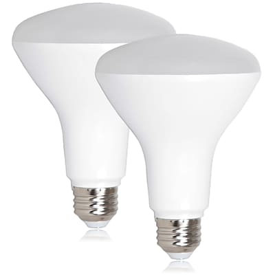 Maxxima 11 Watt Warm White BR30 LED 950 Lumens 75 Watt Equivalent, Pack of 2 (MLB-BR30120W-02)