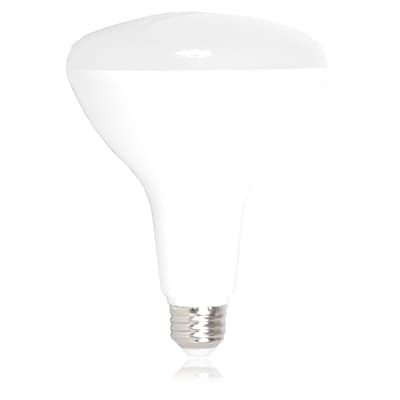 Maxxima 17 Watt Warm White BR40 Dimmable LED 1500 Lumens 100 Watt Equivalent, Single Pack (MLB-BR40200W)