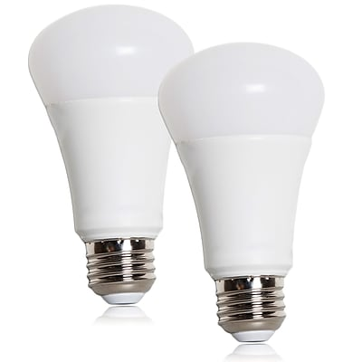 Maxxima 10 Watt Warm White A19 Dimmable LED Light Bulb 800 Lumens, Pack of 2 (MLB-191000W-02)