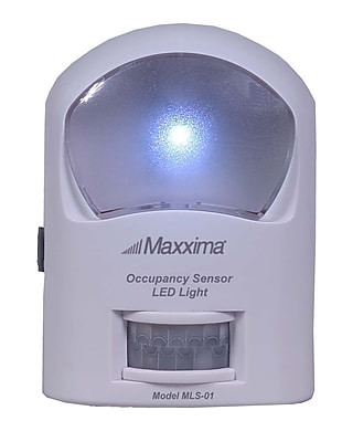 Maxxima Occupancy Motion Sensor LED Light, Single Pack (MLS-01)