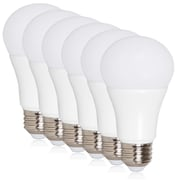 Maxxima 10 Watt Daylight A19 LED Light Bulb 800 Lumens Daylight, 6 Pack (MLB-191050D-06)