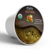 FUERTE®Nocciola™, K-Cup® Compatible Pod, Hazelnut, USDA Organic Arabica Coffee, 18/PK. (KCC-8170)