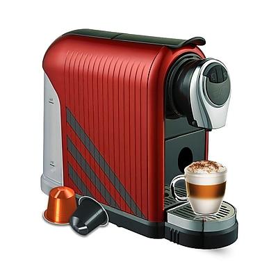 FUERTE®,Nebbia®, Espresso Machine, Compatible with Nespresso® Capsule, Maroon (NEM-BG)