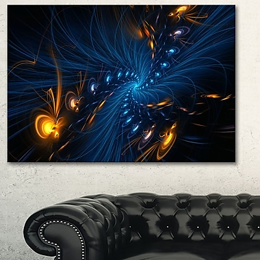 Illumination Digital Metal Wall Art