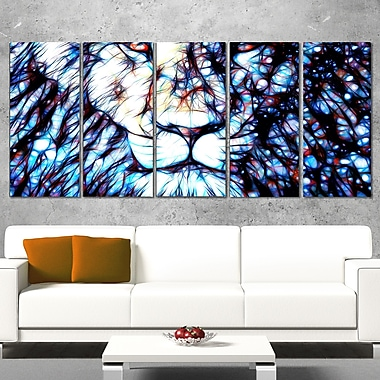 Leader of the Pack Lion Metal Wall Art