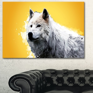 Wonder of the Wolf Animal Metal Wall Art, 28x12, (MT2330-28-12)