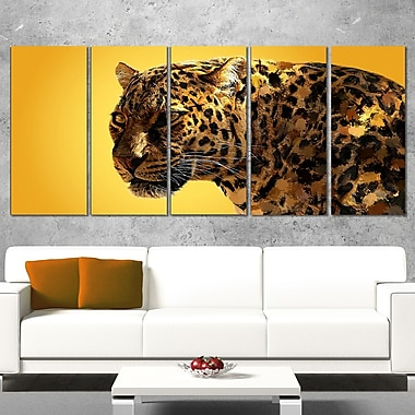 Spotted You Animal Metal Wall Art
