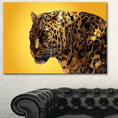 Spotted You Animal Metal Wall Art, 28x12, (MT2331-28-12)