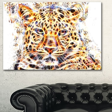 Fetching Feline Animal Metal Wall Art, 28x12, (MT2357-28-12)