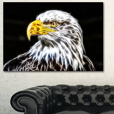 Bald Eagle Metal Wall Art, 28x12, (MT2419-28-12)