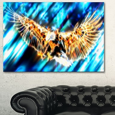 Soaring Eagle Metal Wall Art, 28x12, (MT2445-28-12)