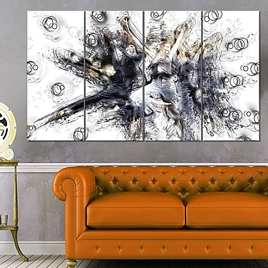 Contemporary Jazz Dance Metal Wall Art