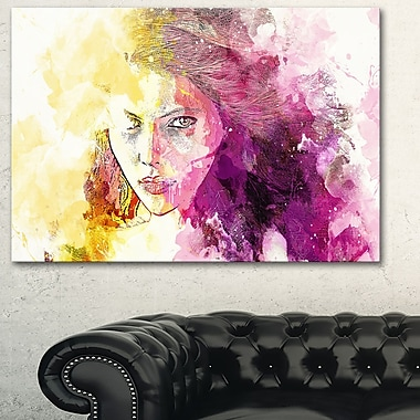 Seductive Stare Sensual Metal Wall Art