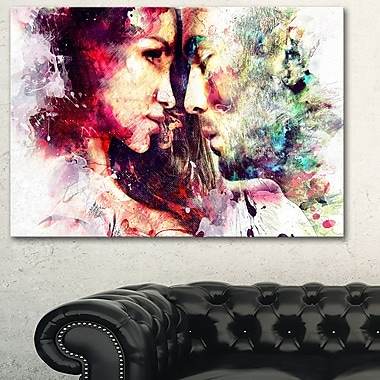 One and OnlySensual Metal Wall Art