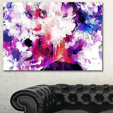 Abstract BeautySensual Metal Wall Art