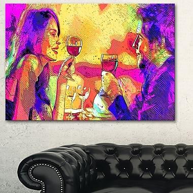 Art mural en métal sensuel, acclamations, 28 x 12 po (MT2916-28-12)