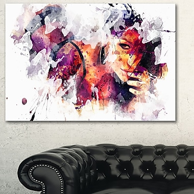 Eyes Only For YouSensual Metal Wall Art, 28x12, (MT2922-28-12)