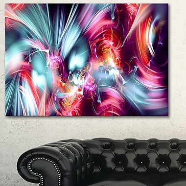 Take Me Over Digital Metal Wall Art, 28x12, (MT3003-28-12)