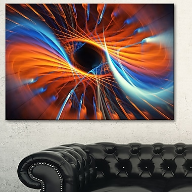 Centered Digital Metal Wall Art