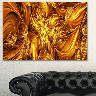 Molten Gold Exchange Metal Wall Art