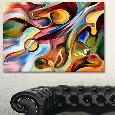 Music beyond the Frames Music Abstract Metal Wall Art, 28x12, (MT6261-28-12)